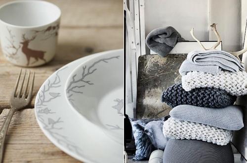 木制品与雪白世界 北欧风情创意家居