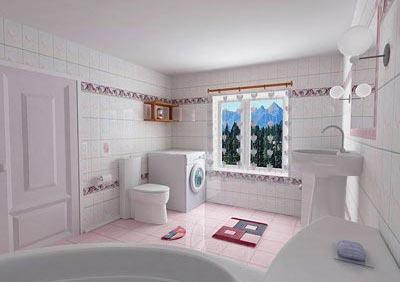 现代都市家装新潮流 卫浴装修也时尚