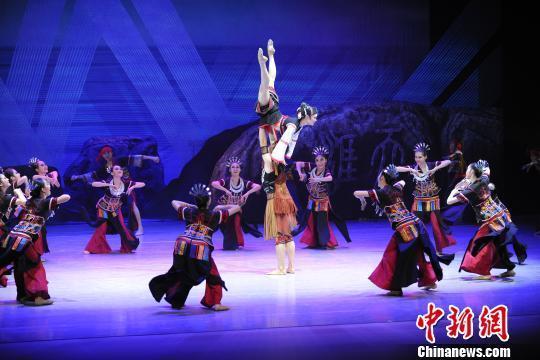 新编舞剧《黄道婆》海口首秀 展示古代纺织文化