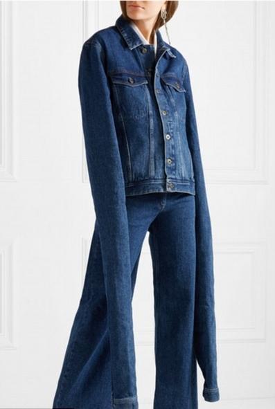 法服装品牌推出带拖地长袖牛仔衣遭调侃