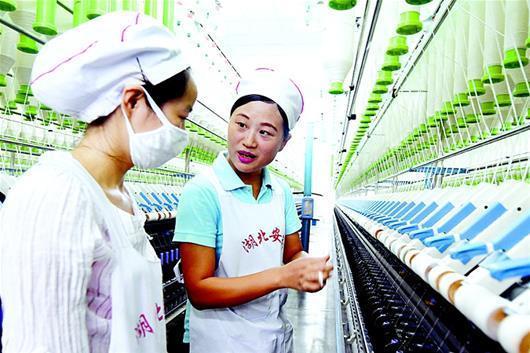 安棉纺织女工仰媛媛:要么不做,要做就做最好