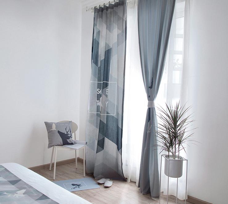 简约窗帘 保护你的私密空间