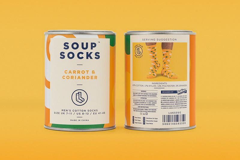 Luckies 推出罐头装袜子