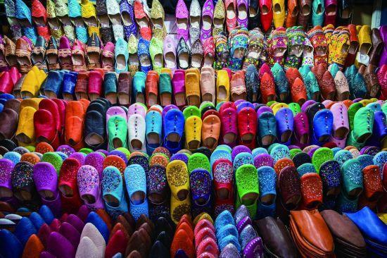 """手工打造的""""国民鞋"""",摩洛哥拖鞋时尚""""不经意"""""""