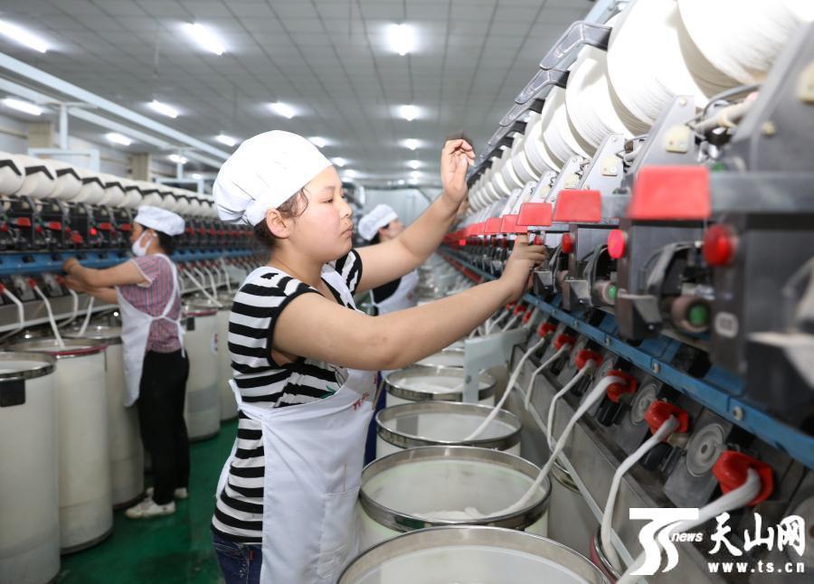 1-3月乌苏市纺织企业产值达1.76亿元