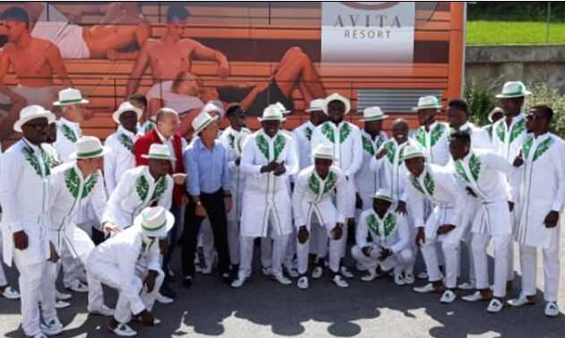 尼日利亚出征世界杯服装又帅炸!浓浓民族风 有品!