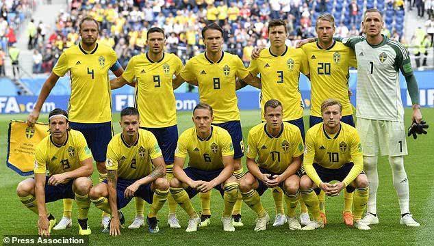 瑞典足协被国际足联罚款47万:因穿未经授权服装