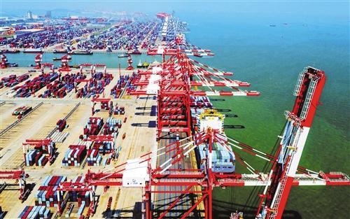 """广州港打造泛珠""""临海大枢纽"""" 港城互动高质量发展"""