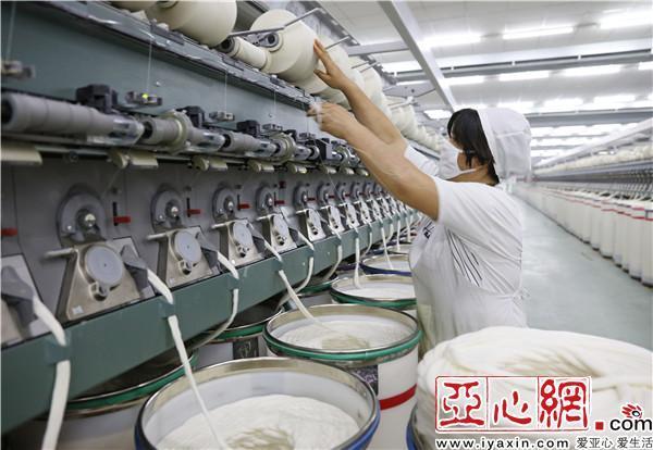 乌苏市纺织企业产量稳增