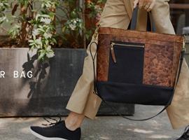 """用蘑菇做""""皮料"""",美国生物初创公司新款环保手袋 Mylo Driver Bag 正式发售"""