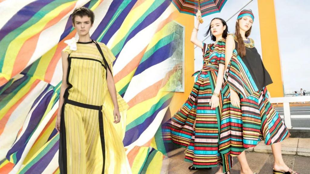 穿不腻的彩条纹Mix棉质面料,2020春夏最具可塑性的面料诞生