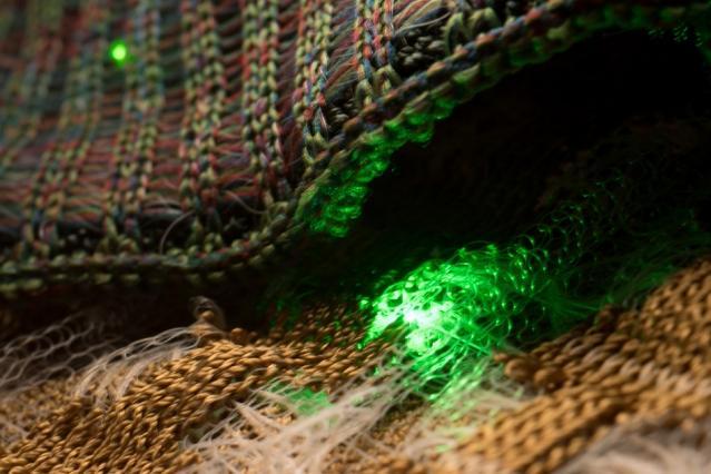 可穿戴半导体布料专注于智能服装的新设计