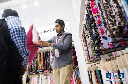 国际纺织品面辅料博览会在绍兴举行
