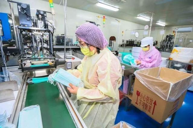 中国口罩日产2000万只 上海日产口罩将达400万只,约占全国产能1/5