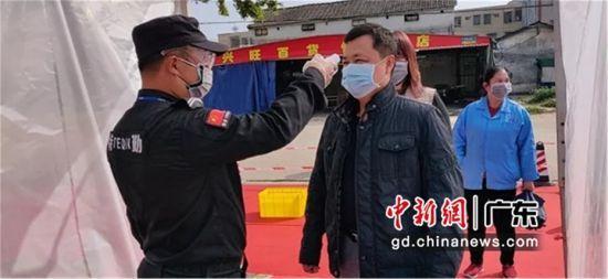 """被誉为""""中国休闲服装名镇""""的广东博罗园洲助企业复工复产"""