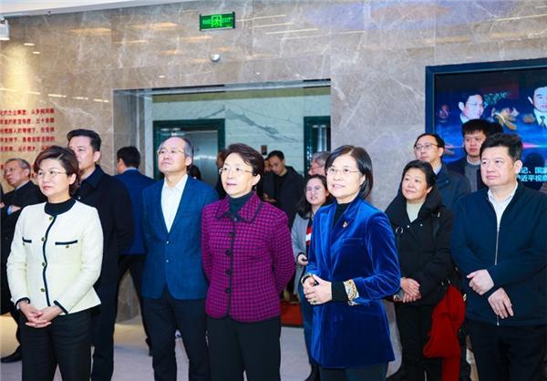 江蘇省品牌服裝產業強鏈專班,對江蘇陽光集團進行專題調研