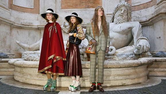new concept 8254b b6f93 Gucci最新大秀重返性解放的旧世界,时尚品牌该如何表达政治 ...