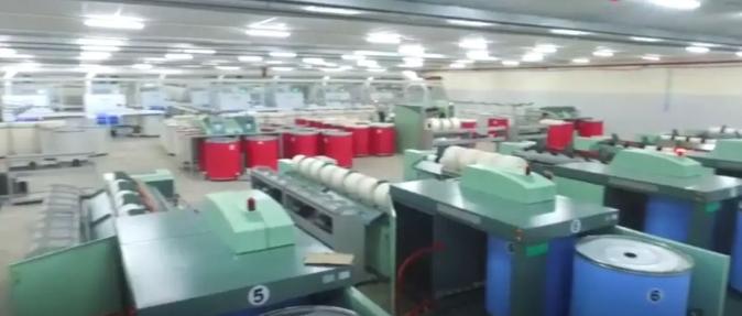 """印度""""无人""""纺织厂实拍,自动化程度惊人"""