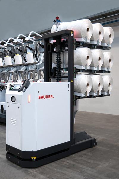 Saurer将参加Domotex 2020展会,展示其自动化加捻解决方案