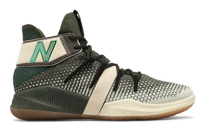 "New Balance 发布""Money Stack""配色的 OMN1S 篮球鞋"